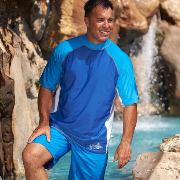 591cf64579 activeskinz Shirts | Mens Ss Adventure Sun Swim Shirt | Poshmark